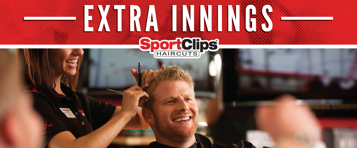 The Sport Clips Haircuts of Lafayette - North Ambassador Caffery Extra Innings Offerings